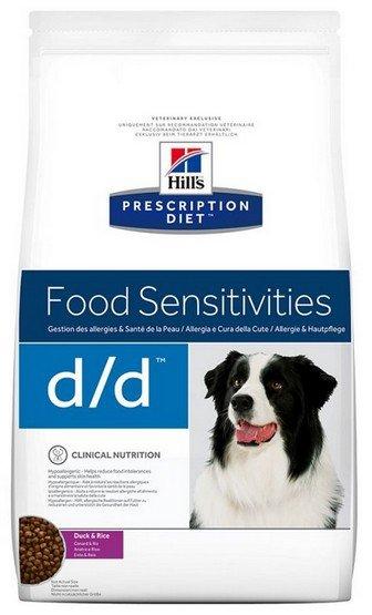 Hill's Prescription Diet d/d Kaczka i Ryż Canine 12kg