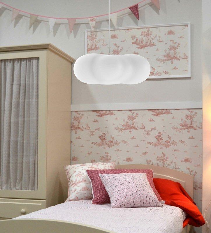 NEW GARDEN lampa wisząca CLAUDY HANG biała