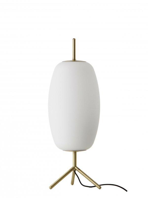FRANDSEN lampa biurkowa SILK - mosiądz, szkło
