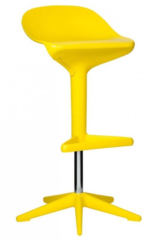 Hoker BENT żółty - z regulacją wysokości, polipropylen