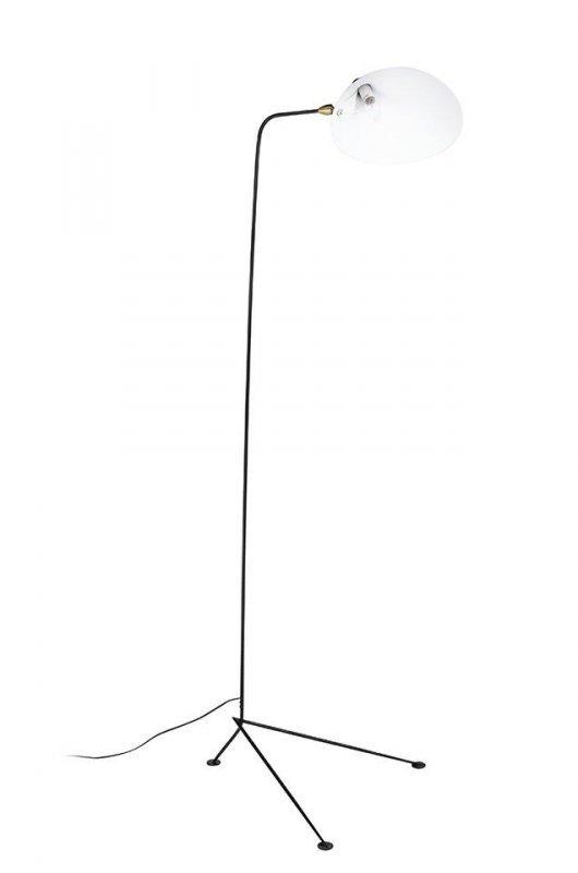 Lampa podłogowa RAVEN FLOOR UP czarna - aluminium, stal węglowa