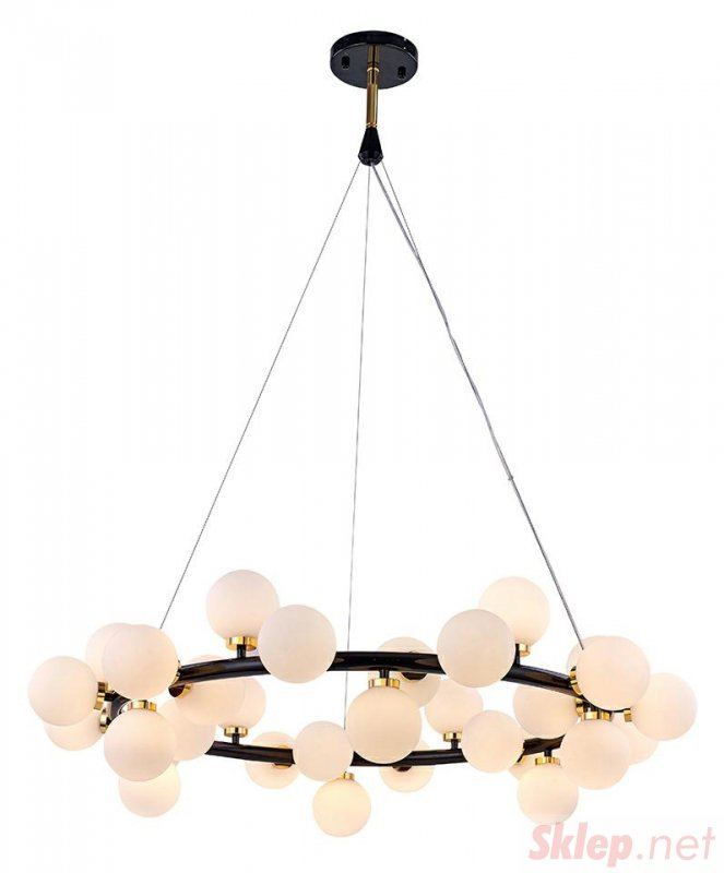 MOOSEE lampa wisząca COSMO M - czarna, złota