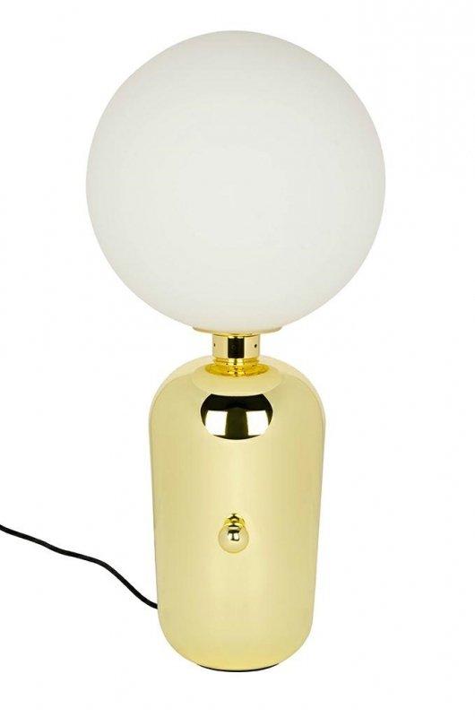 Lampa biurkowa BOY Fi 25 złota - LED, metal, szkło