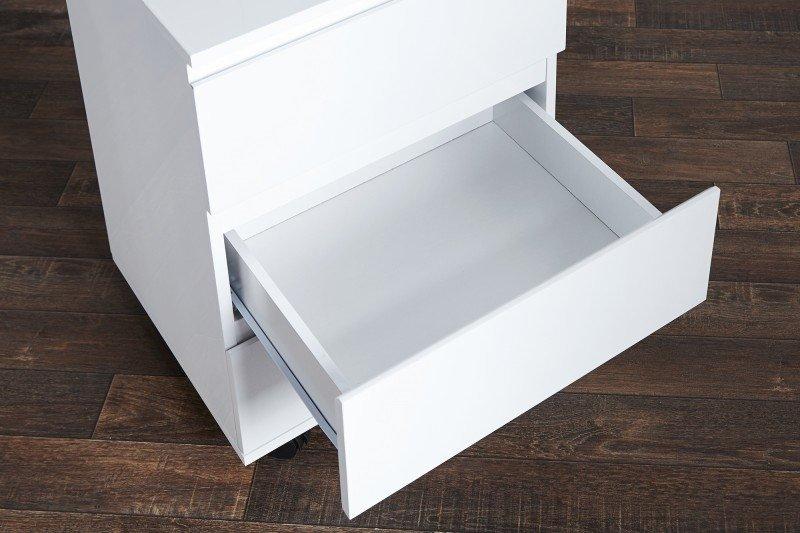 INVICTA Kontenerek pod biurko BIG DEAL - biały