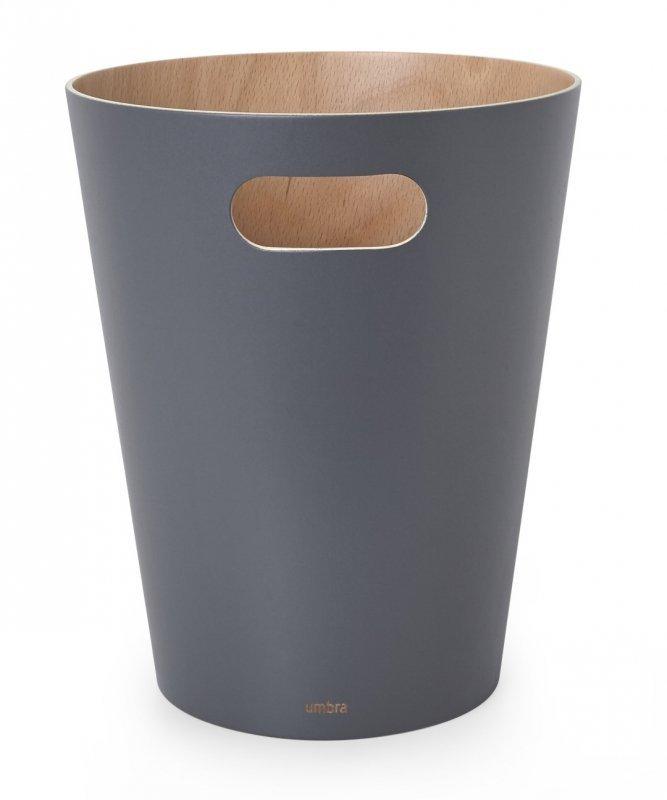 UMBRA kosz na śmieci WOODROW - charcoal