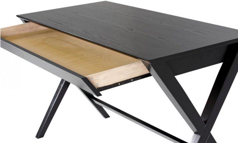 ACTONA biurko WRITEX 120x60 - czarne