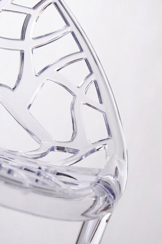 Krzesło KORAL transparentne  - poliwęglan