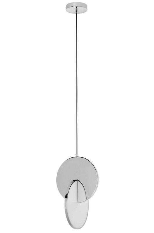 Lampa wisząca DISCO chromowana - LED, stal polerowana