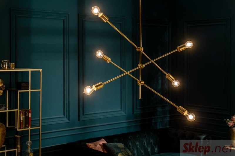 INVICTA lampa wisząca VARIATION - złota