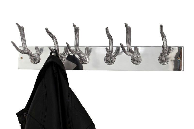 INVICTA wieszak DEER 50 cm srebrny - stop aluminiowy