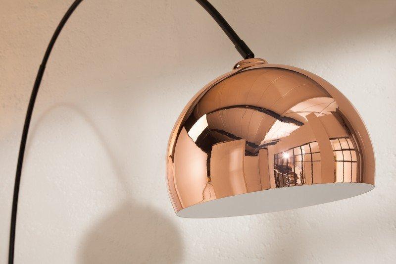 INVICTA lampa podłogowa BIG BOW różowe złoto 170-210 cm