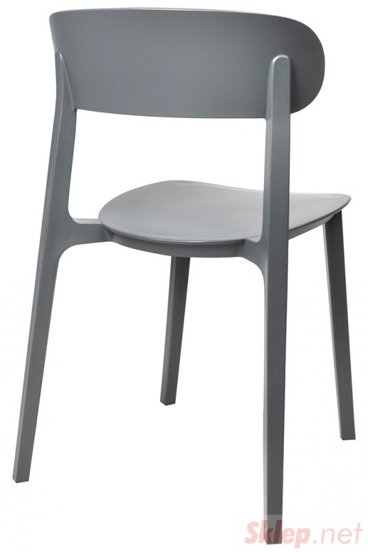Krzesło NIKON czarne - polipropylen