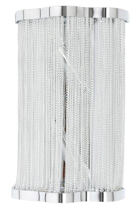 Kinkiet ATLANTA WALL 2 - aluminium, stal
