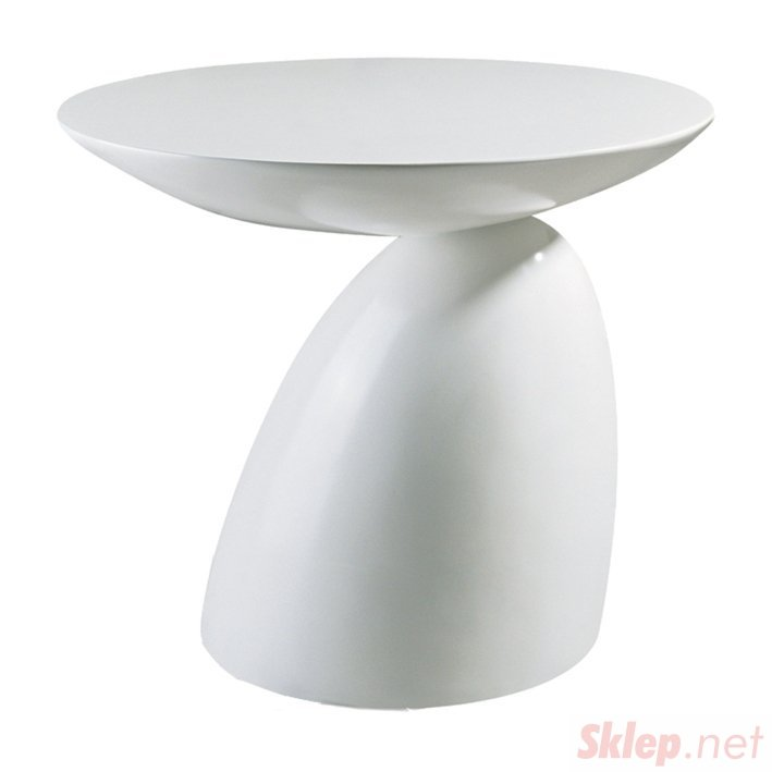 Stolik FUNGO biały -  włókno szklane