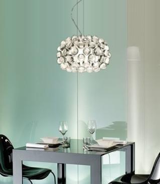 Lampa wisząca ARIA 35 - kolor transparentny