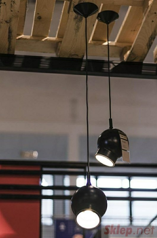 Lampa wisząca OJO LOONG czarna - LED,metal