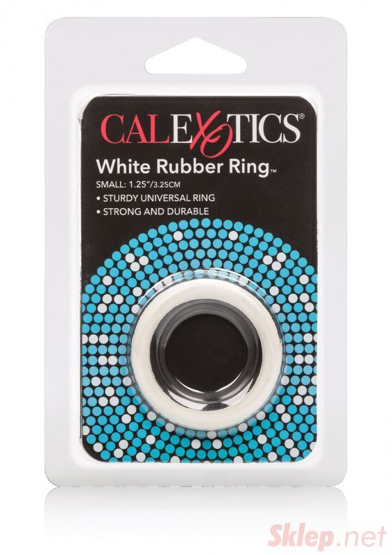 Pierścień-RUBBER RING WHITE SMALL
