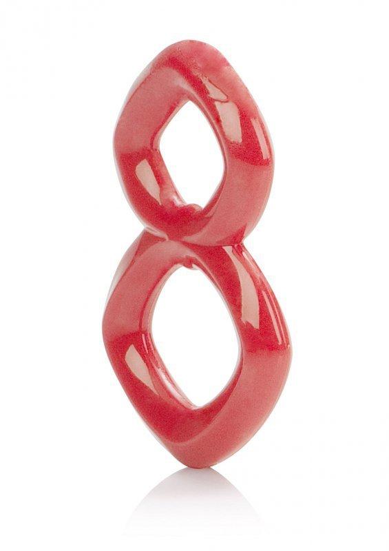 Pierścień-CRAZY 8 RING RED