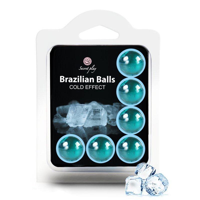 SET 6 BRAZILIAN BALLS COLD EFFECT
