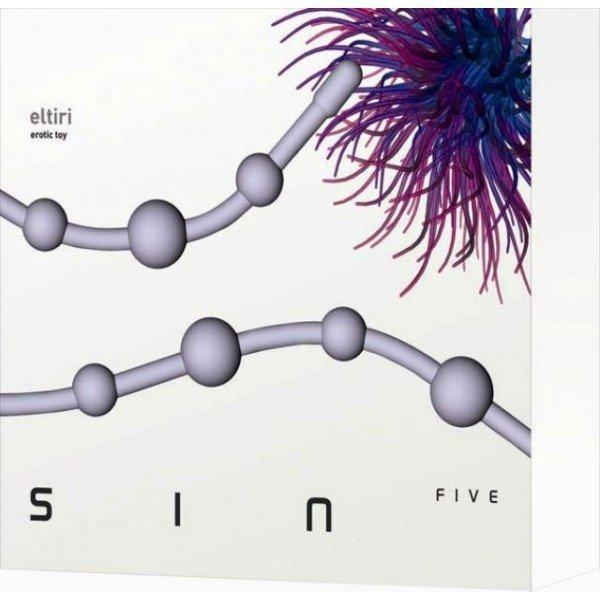 Plug/kulki-SinFive Eltiri plum