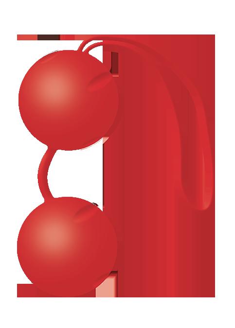 Kulki-Joyballs, red