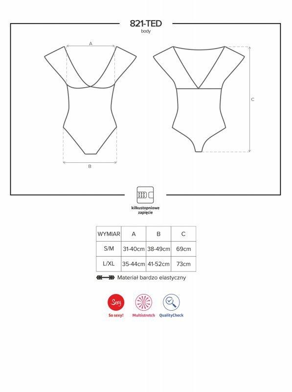 Bielizna-821-TED-1 body L/XL