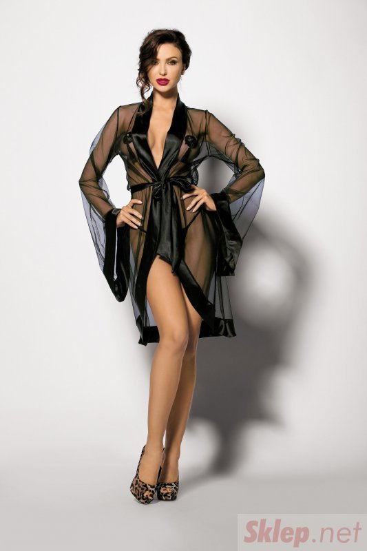 Bielizna-ANTHIS L (robe black )