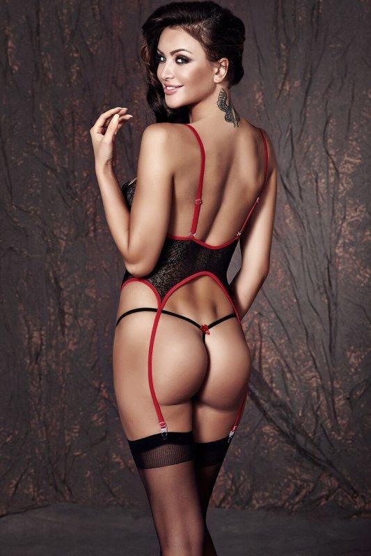 Bielizna-JADE black corset S ( czarnyn gorset )