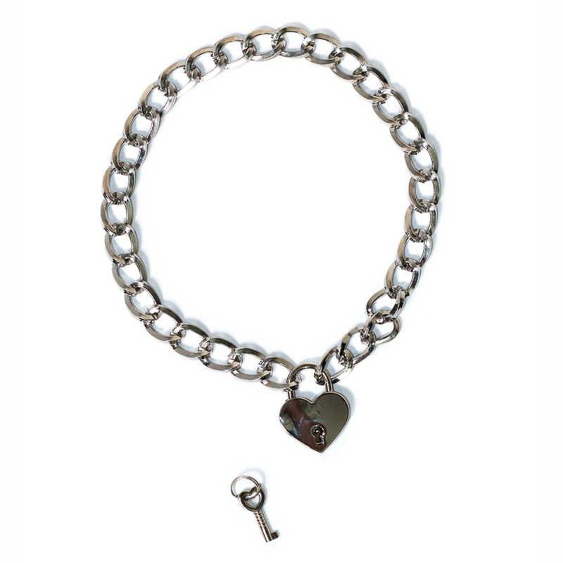 Wiązania- The Collar Party Hard Embrace Silver