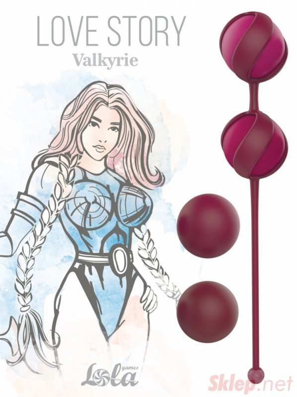 Replacement Vaginal Balls Set Love Story Valkyrie Wine Red