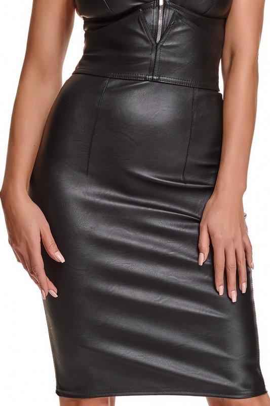 Bielizna - BRFEDERICA001 spódnica czarna rozmiar XXL