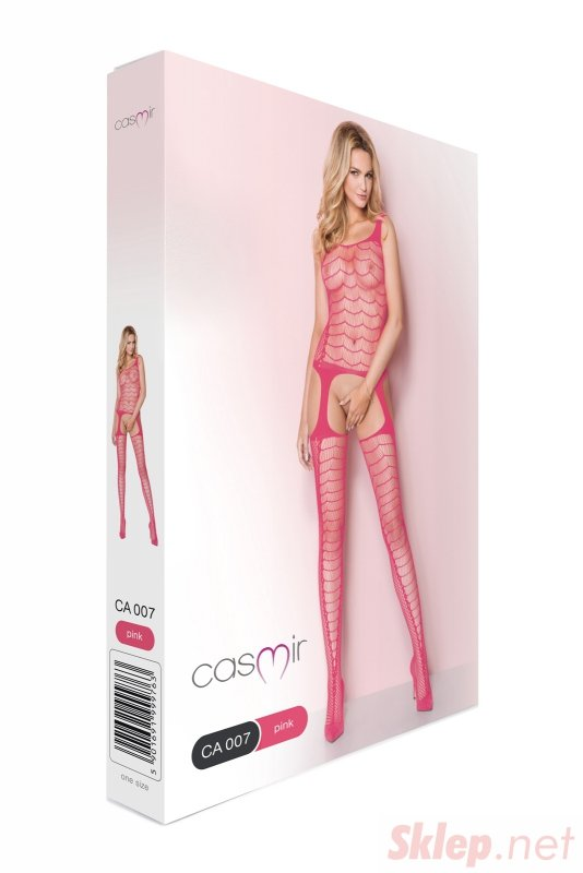 Bodystocking CA007 pink