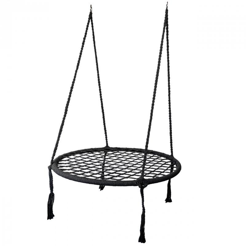 Huśtawka wiszące krzesło fotel bocianie gniazdo ModernHome