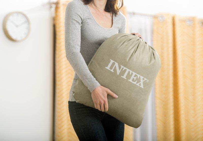 Materac dmuchany łóżko dla dziecka + pompka INTEX 66810