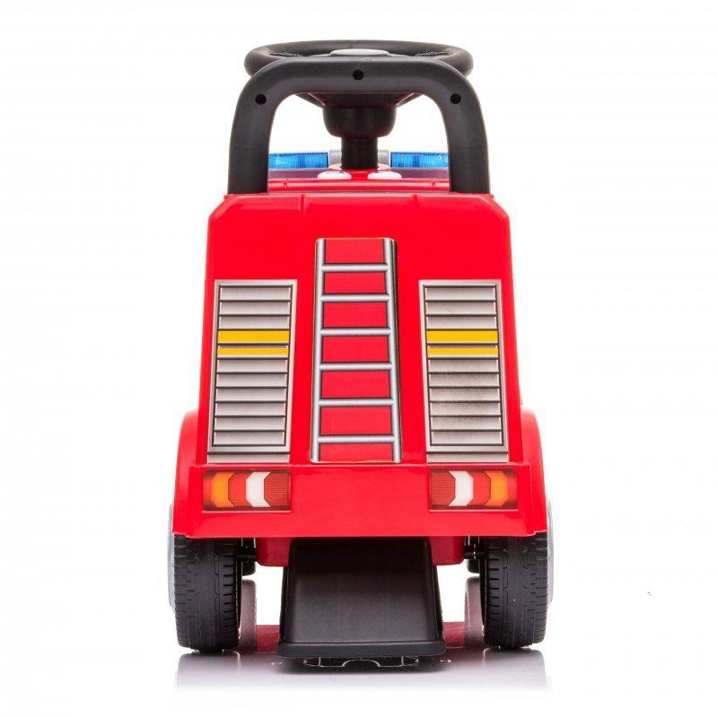 Jeździk chodzik autko Mercedes Straż pożarna + led
