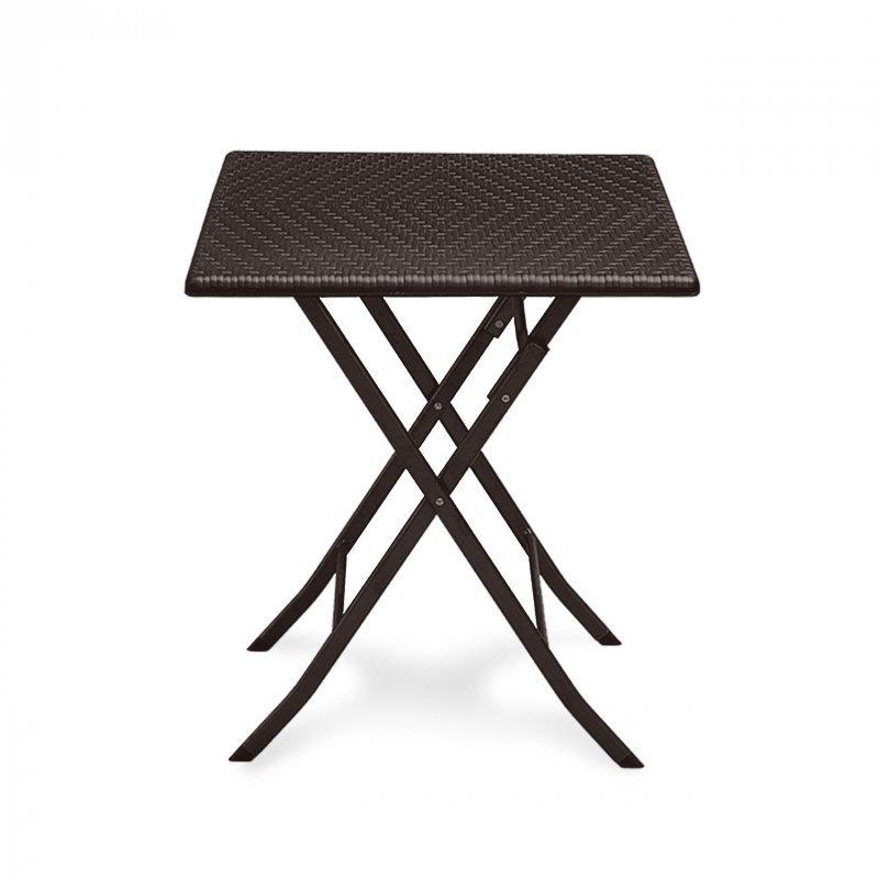Stolik ogrodowy składany stół kawowy rattan balkon