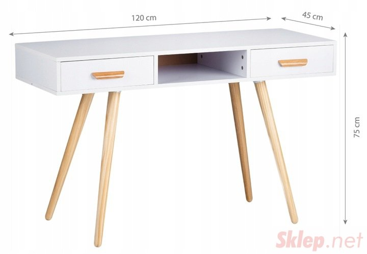 Toaletka kosmetyczna biurko konsola komoda stolik
