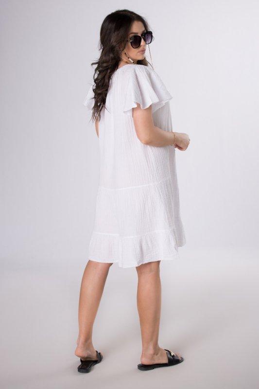 muślinowa sukienka oversize