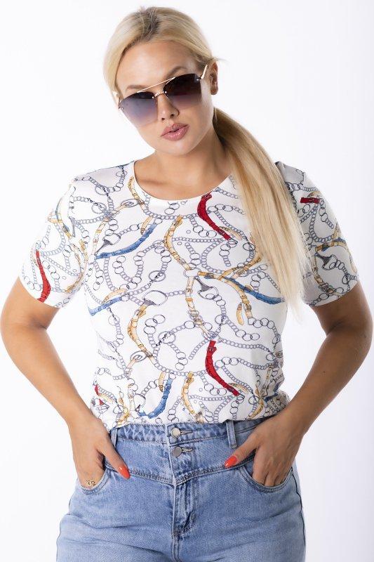 bluzka z printem