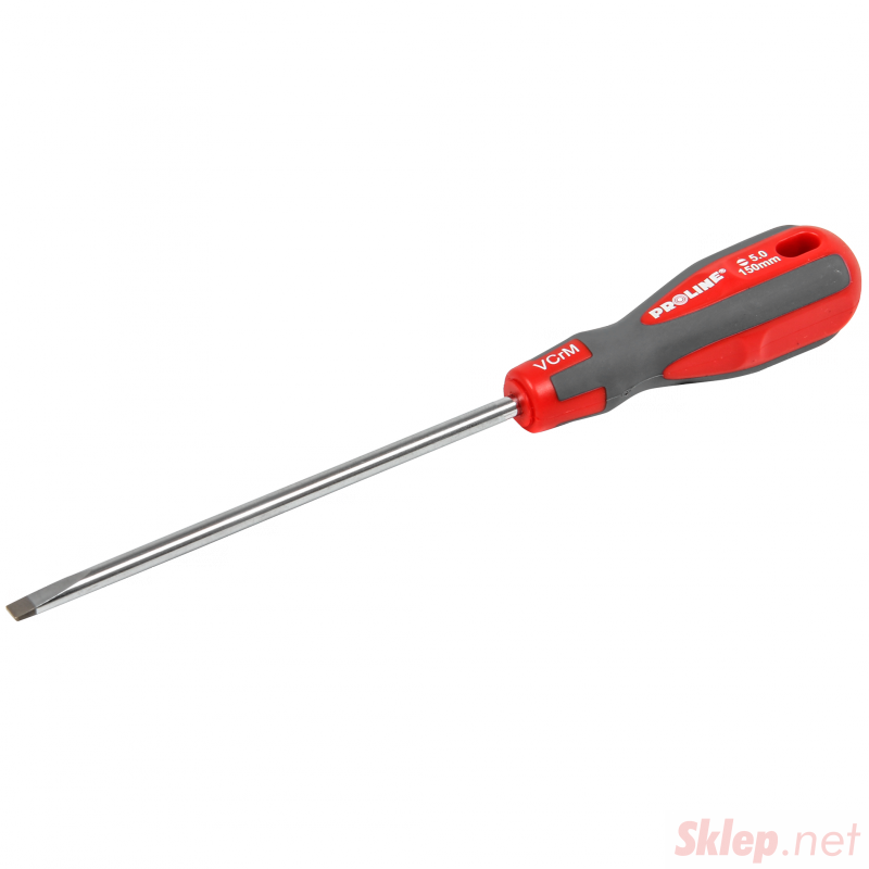 10153 Wkrętak Soft Touch płaski 5.0x100 mm, Proline