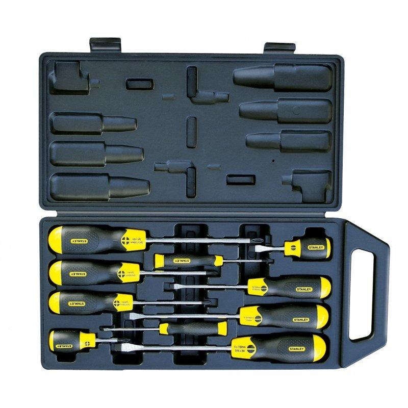 650052 Zestaw wkrętaków Cushion Grip  10 elementów, PŁ+PH, Stanley 65-005