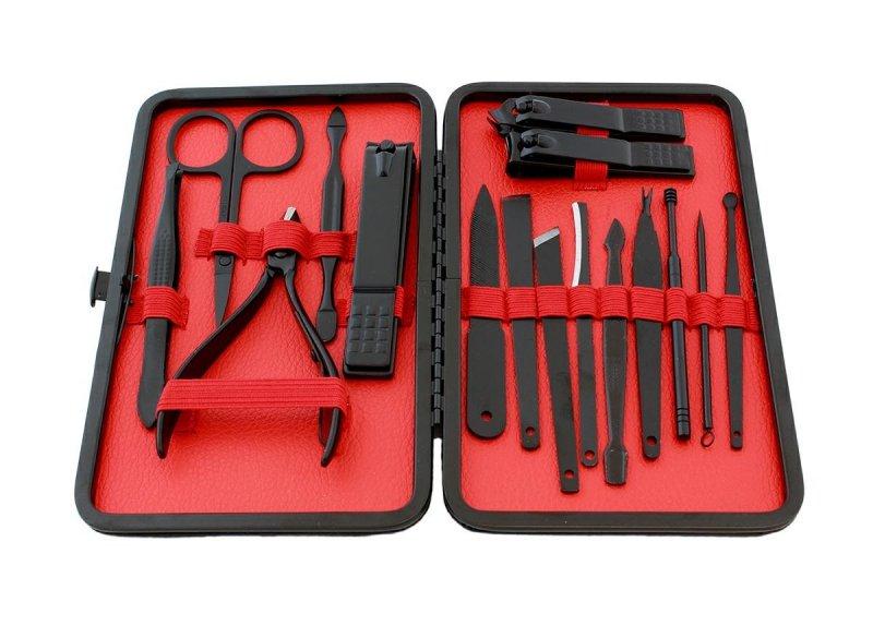 AG603E Zestaw do manicure czerwony
