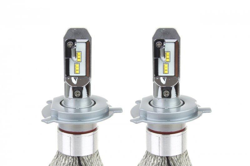 01082 Żarówki świateł mijania LED RS+ slim H4 50W