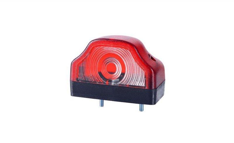 Lampa oświetlenia tablicy rejestracyjnej hor 19 czerwona