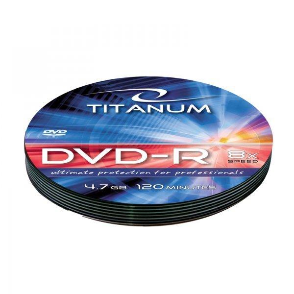 1219 Dvd-r titanum 4,7gb x8 - soft pack 10 szt.