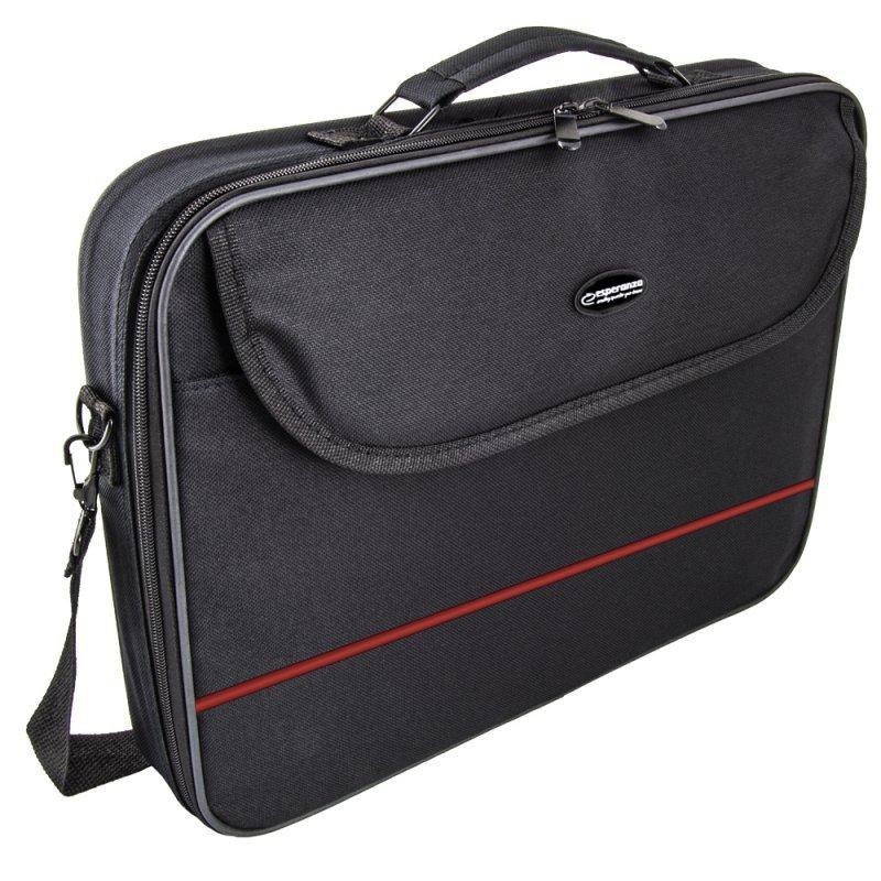 """ET101R Esperanza torba na notebooka 15,6"""" classic red"""