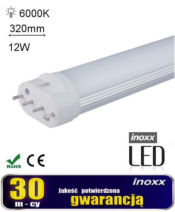 Świetlówka led kompaktowa  pl-l 2g11 12w zimna