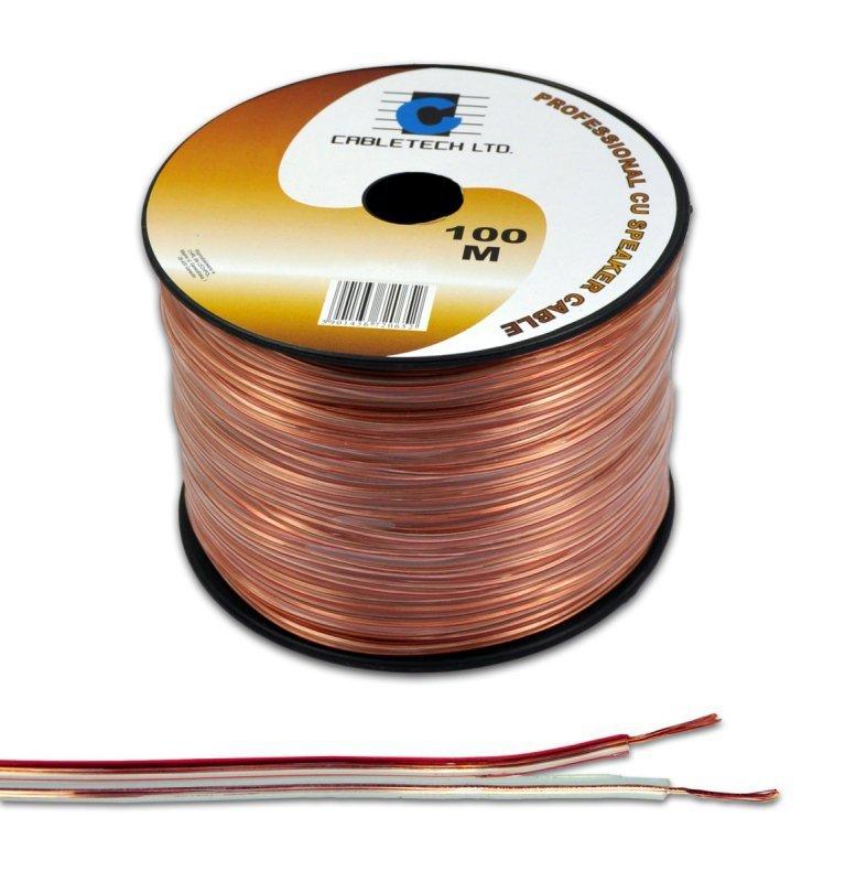 KAB0325 Kabel głośnikowy 2,5mm (rolka  100m)