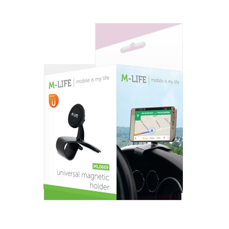 Uniwersalny uchwyt magnetyczny mocowany do deski M-LIFE ML0699