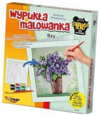 KWIATY - Wypukła Malowanka - BZY